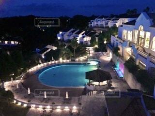 リゾートホテルの写真・画像素材[3853305]