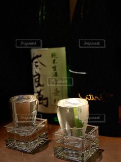 日本酒で一杯の写真・画像素材[2937547]