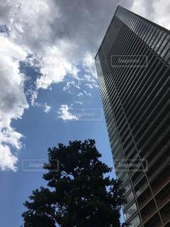 高層ビルと空の写真・画像素材[878778]
