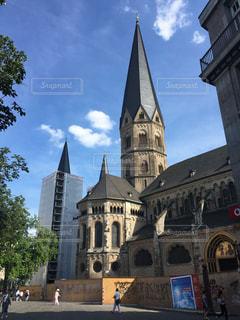 ヨーロッパの教会の写真・画像素材[3162869]