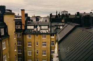 都市の高い建物の写真・画像素材[3172876]
