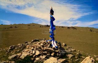 モンゴルの風景の写真・画像素材[3172984]