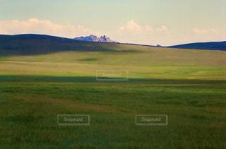 夏のモンゴルの写真・画像素材[3172996]