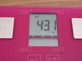 体重計のクローズアップの写真・画像素材[2894842]