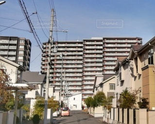 一戸建てとマンションの写真・画像素材[2978201]