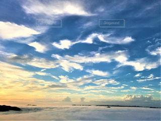 空の雲の群の写真・画像素材[2774707]