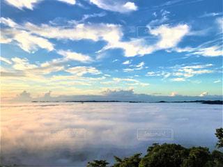 早朝の雲海の写真・画像素材[2778151]