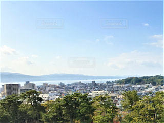 街を高台から見渡すの写真・画像素材[2780148]