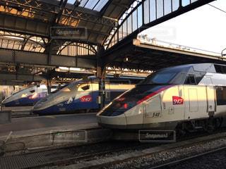 フランスの新幹線TVGの写真・画像素材[2754292]
