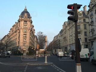 フランスの街並みの写真・画像素材[2755184]