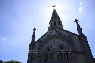 カトリック津和野教会の写真・画像素材[3469416]
