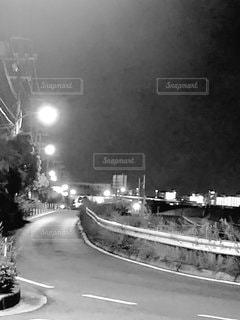 街へ続く道路の写真・画像素材[2760392]