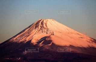 赤富士の写真・画像素材[1789950]