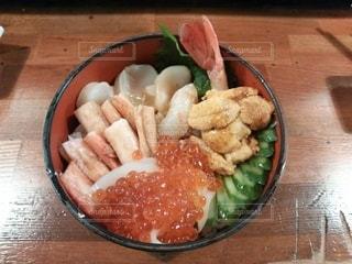 贅沢海鮮丼の写真・画像素材[2772703]