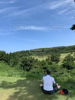 真夏に勤しむ趣味ゴルフの写真・画像素材[2769485]