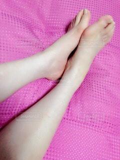 足を休めるの写真・画像素材[116244]
