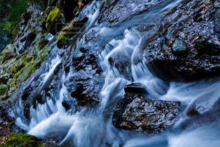 冬の河の写真・画像素材[2959430]