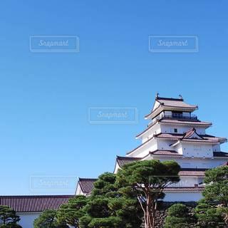 会津若松城の写真・画像素材[2777520]