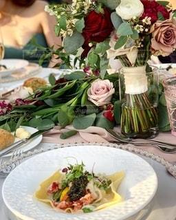 wedding dinnerの写真・画像素材[2778786]