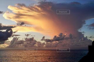 珍しい雲の写真・画像素材[2788901]
