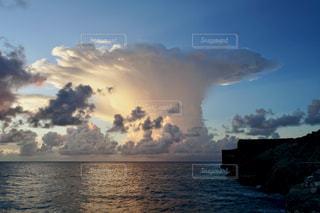 珍しい雲の写真・画像素材[2788912]