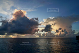 珍しい雲の写真・画像素材[2788913]