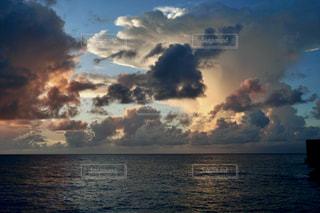 珍しい雲の写真・画像素材[2788917]