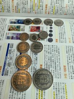 スイスフランのコインの写真・画像素材[2783099]