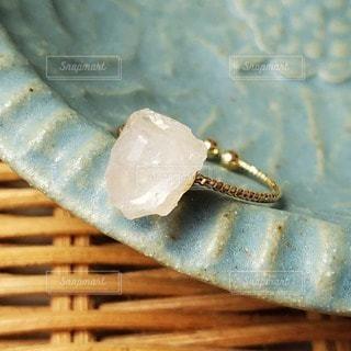 天然石のリングの写真・画像素材[2899078]