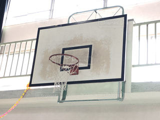 バスケットゴールの写真・画像素材[3147014]