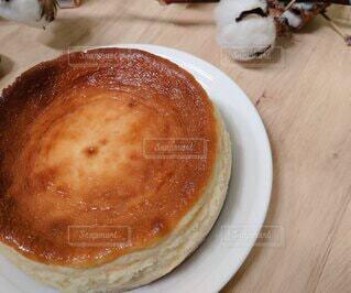 ベイクドチーズケーキの写真・画像素材[3918992]