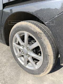 タイヤの掃除の写真・画像素材[2834816]
