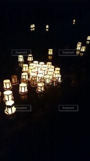 灯籠に想いをのせて…の写真・画像素材[2800047]