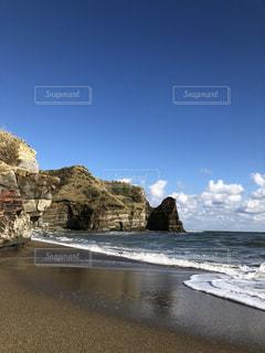 綺麗な海岸の年賀状の素材の写真・画像素材[2799974]
