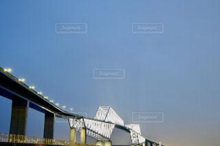 若洲海浜公園からの東京ゲートブリッジの写真・画像素材[2862935]