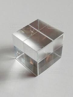 ガラスキューブ2の写真・画像素材[4090931]