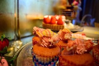 いちごのデザート食べ放題の写真・画像素材[2808977]