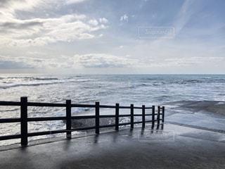 幻想的な空と海の写真・画像素材[2882234]