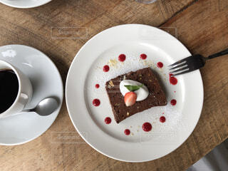 チョコレートケーキの写真・画像素材[4637478]