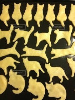 にゃんこがいっぱい。ねこクッキーの写真・画像素材[108878]