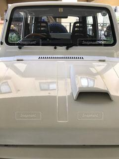 綺麗に洗車した車の写真・画像素材[2825381]
