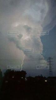 雷雲の写真・画像素材[2824984]