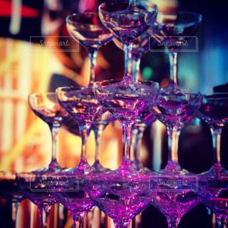 ワイングラスの写真・画像素材[2824978]
