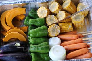 食べ物の皿の写真・画像素材[2840418]