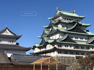 名古屋城前の時計塔の写真・画像素材[2827002]