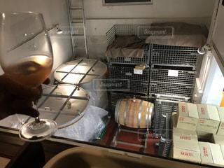 大阪市内のビルに作られたワイン醸造所の写真・画像素材[2834317]
