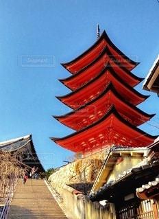 五重塔の写真・画像素材[2838433]
