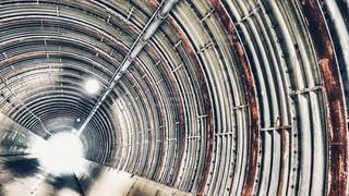 トンネルの写真・画像素材[466553]