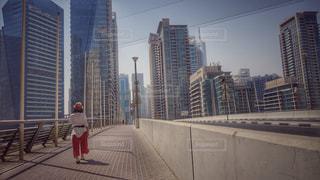 ドバイの街並みの写真・画像素材[1324522]