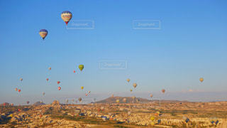 カッパドキアの気球の写真・画像素材[1326396]
